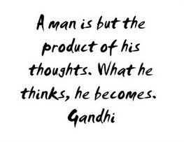 Gandhi on the principle of mentalism